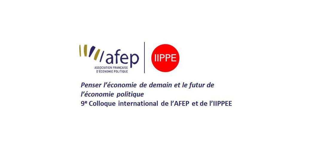 Colloque AFEP/IIPPE -  Penser l'économie de demain et le futur de l'économie politique  - KEDGE