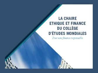 Brochure Chaire Ethique et Finance - POCFIN
